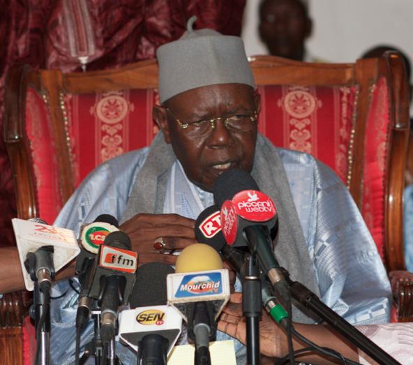 Face à la Presse,Serigne Abdoul Aziz Sy exhorte les jeunes à défendre le patrimoine de l'Islam