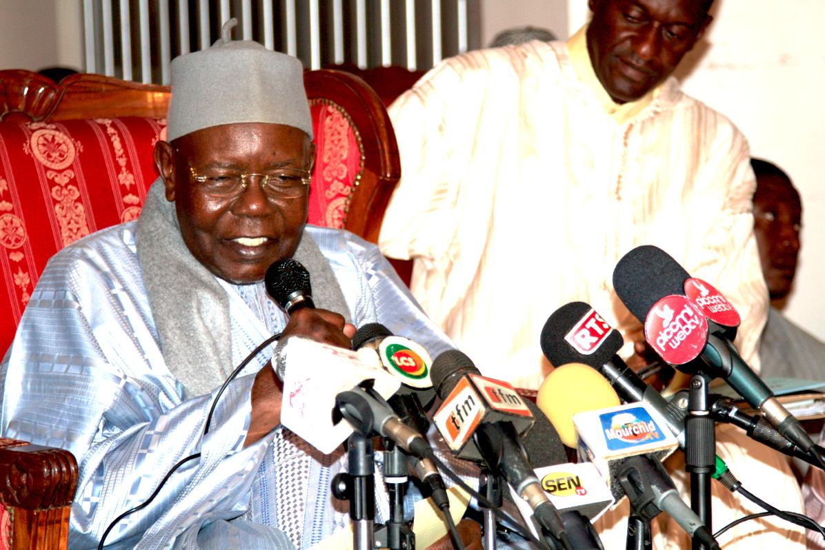 VIDEO - GAMOU TIVAOUANE 2014 - L'Intégralité du Point de Presse de Serigne Abdoul Aziz Sy Al Amine