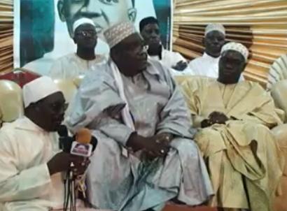 VIDEO - Bourde Populaire à la Place de l'obélisque : L'allocution de Serigne Ahmada Sy Djamil et Serigne Sidy AHmed Sy Al Amine