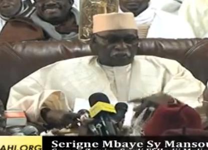 VIDÉO- Revivez l'intégralité du Gamou de la Zawiya El Hadj Malick Sy de Dakar de ce Samedi 25 Janvier 2014 , présidé par Serigne Mbaye Sy Mansour