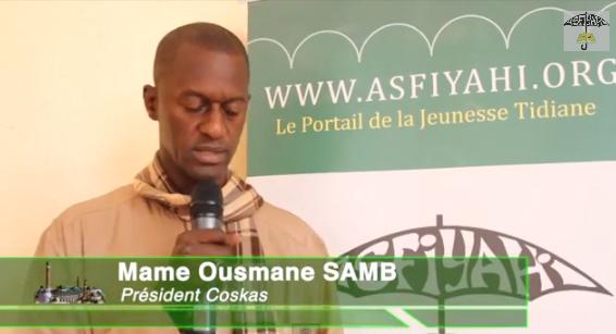 VIDEO - Mame Ousmane Samb President du Coskas - Bilan et Perspectives du Coskas