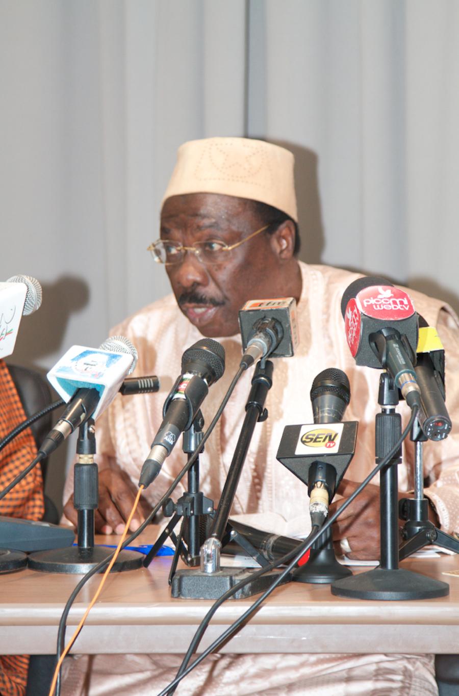 PHOTOS - Les Images du Point de Presse du Comité Preparatoire de l'hommage à Serigne Mansour Sy Borom Daara Ji , du 21 au 30 Mars 2014