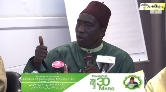 VIDEO - POINT DE PRESSE LANCEMENT JOURNÉES SERIGNE MANSOUR SY - Allocution de Serigne Habib Sy Ibn Serigne Mbaye Sy Mansour