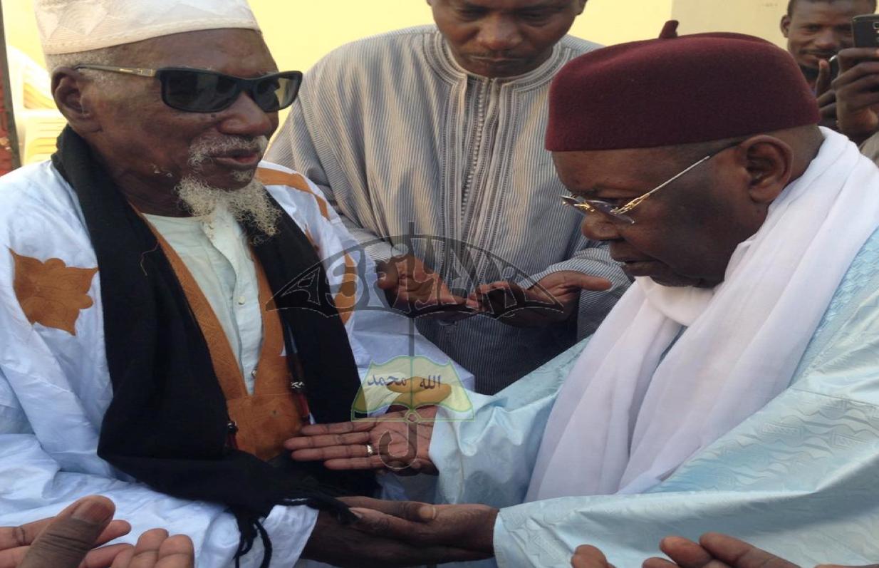 PHOTOS : Les Images de la Visite de Serigne Abdoul Aziz Sy Al Amine à Touba , ce Jeudi 17 Avril 2014