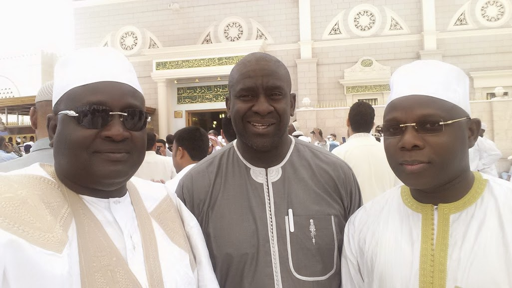 Serigne Habib Sy Mansour , Serigne Cheikh Oumar Sy Djamil et Serigne Mansour Sy Diop