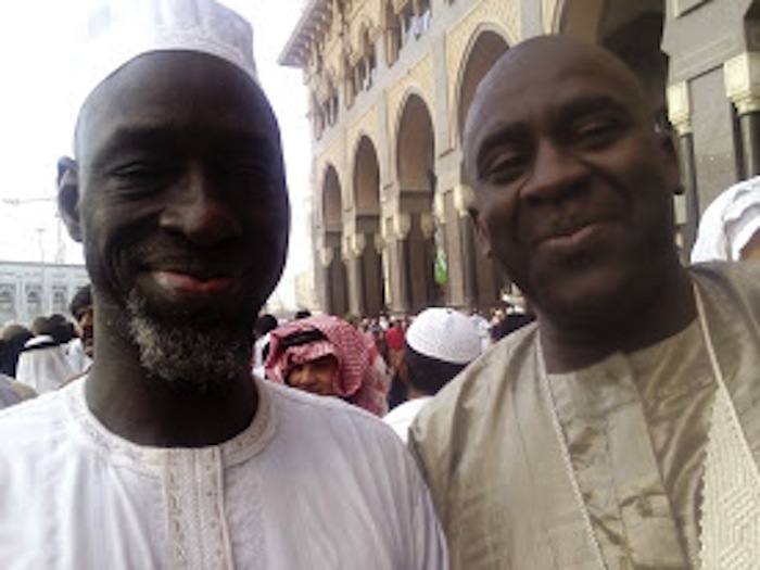 Serigne Maguette Diop et Serigne Cheikh Oumar Sy Djamil