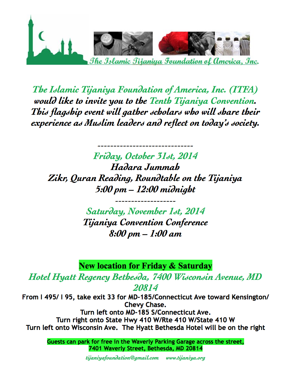 UNITED STATES - 2014 ITFA Convention , Friday, October 31st & Saturday, November 1st, 2014