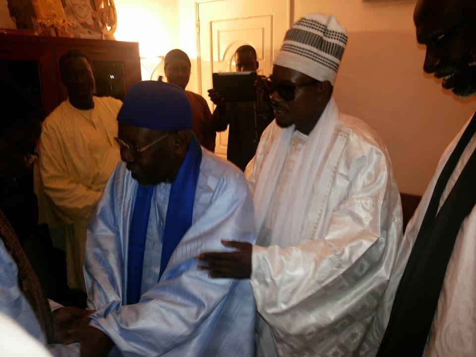 PHOTOS - Serigne Bass Abdou Khadre Mbacké reçu à Tivaouane par Serigne Abdoul Aziz Sy Al Amine