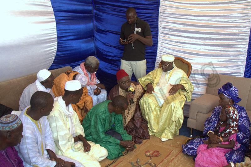 PHOTOS -  Lecture du Coran suivie de Ziarra : Journée de prières Thierno Macky Mountaga Daha Cheikhou Oumar Foutiyou Tall à Saint-Louis ce Samedi 4 Avril 2015