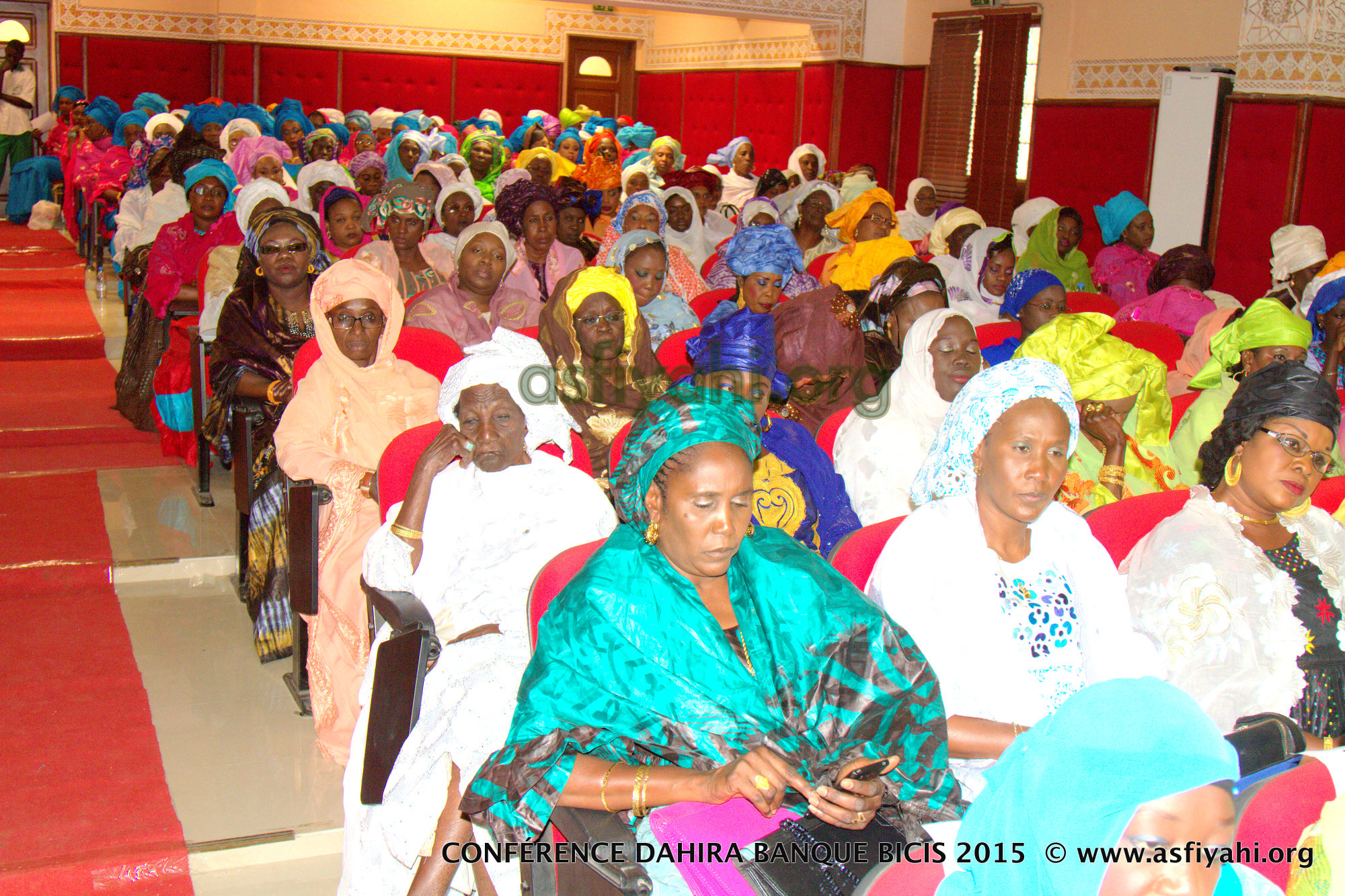 PHOTOS - Les Images de la Conférence du Dahira Khaïry Wal Baraka de la Banque BICIS, organisée le Samedi 28 Mars 2015