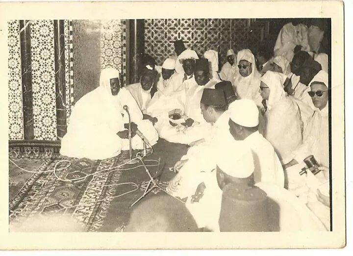 Serigne Abdoul Aziz Sy Dabakh , Inauguration de la Grande Mosquee de Dakar en 1964