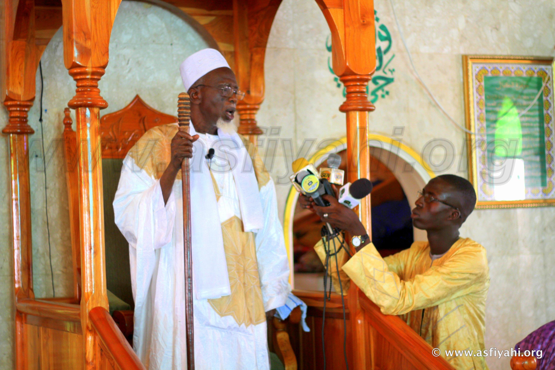 PHOTOS - TABASKI 2015 À TIVAOUANE - Les Images de la prière à la Mosquee Serigne Babacar SY (rta)