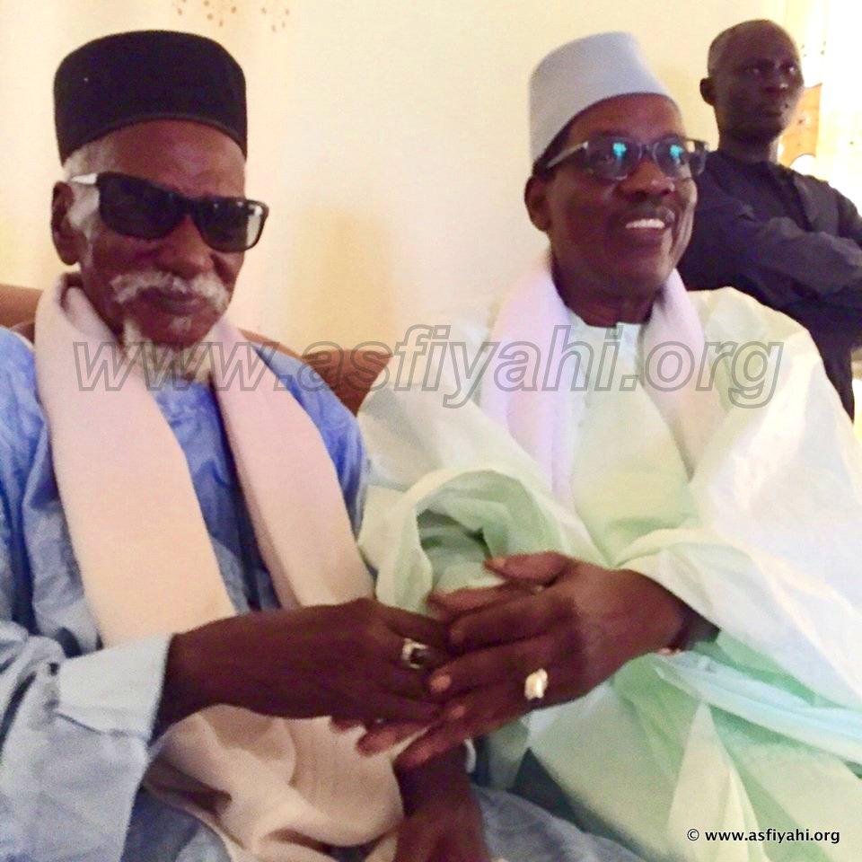 PHOTOS - Les Images de la  visite de Serigne Maodo Sy Dabakh chez Cheikh Sidy Mokhtar Mbacké, ce jeudi 1er Octobre 2015