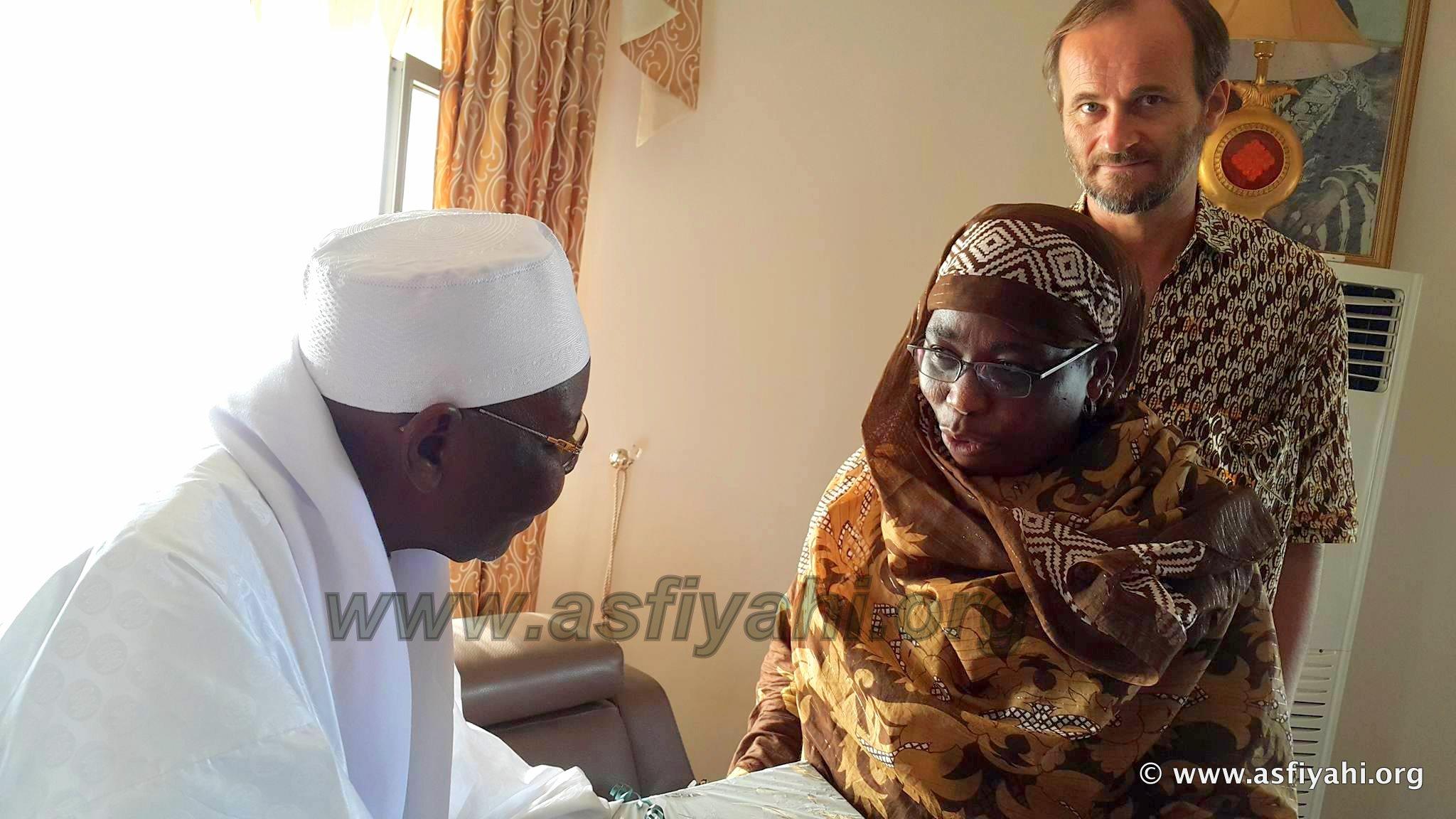 L'Ambassadrice de la Rèpublique de Namibie reçue à Tivaouane par Serigne Abdoul Aziz Sy Al Amine