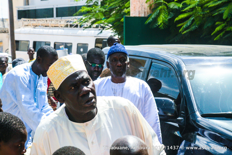 Même ferveur à la Zawiya El Hadj Malick SY, ou nous avons aperçu Serigne Mbaye SY Abdoul Aziz dit Ndiol Fouta