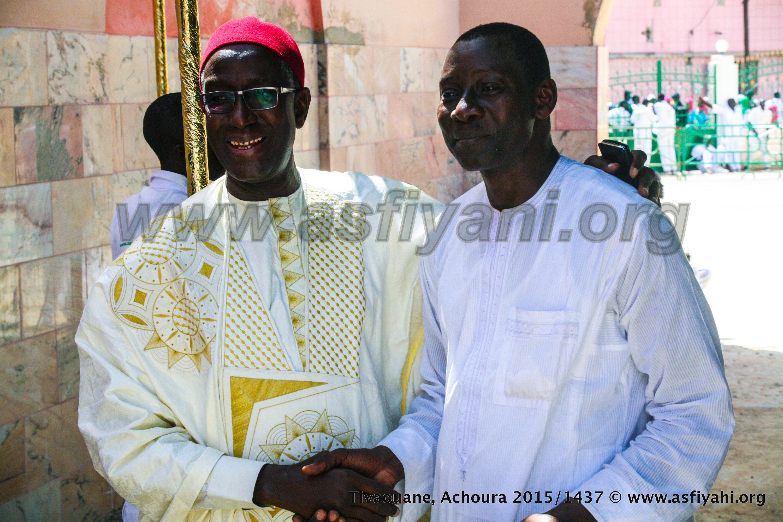 Babacar Gaye du Coskas, auprès de l'Infatigable outil de la Hadara, Fodé Touré