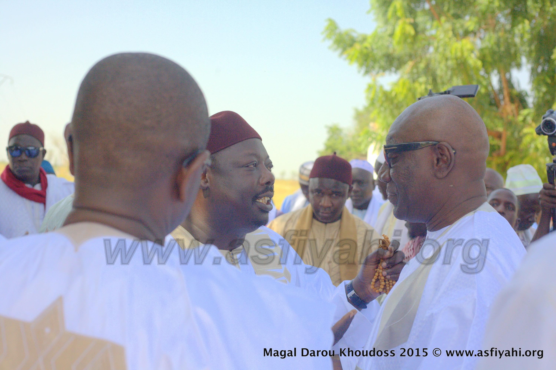 PHOTOS - TOUBA - Voici les Images de l'accueil de la famille de Seydil Hadj Malick Sy au Magal de Darou Khoudoss