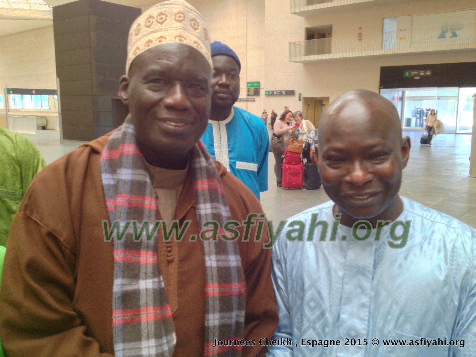 Dr Bachir Ngom en compagnie de Serigne Mame Doudou SY Ibn Serigne Mbaye SY Mansour