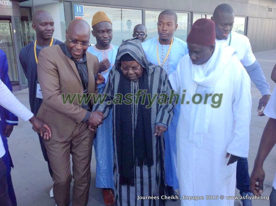 Arrivée de Serigne Abdou à la salle de conference le samedi 31 Octobre