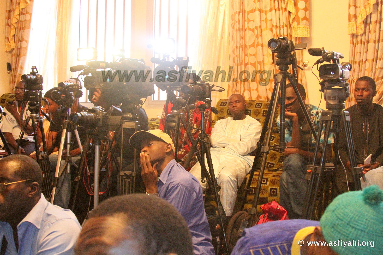 PHOTOS - GAMOU TIVAOUANE 2015/2 - Les Images du Point de Presse de Serigne Abdoul Aziz SY Al Amine , ce Samedi 12 Décembre 2015 à Tivaouane
