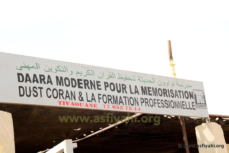 PHOTOS- TIVAOUANE: Les Images de l'inauguration du Daara Moderne pour la Mémorisation du Saint-coran et de formation professionnelle, ce Mercredi 2 Mars 2016