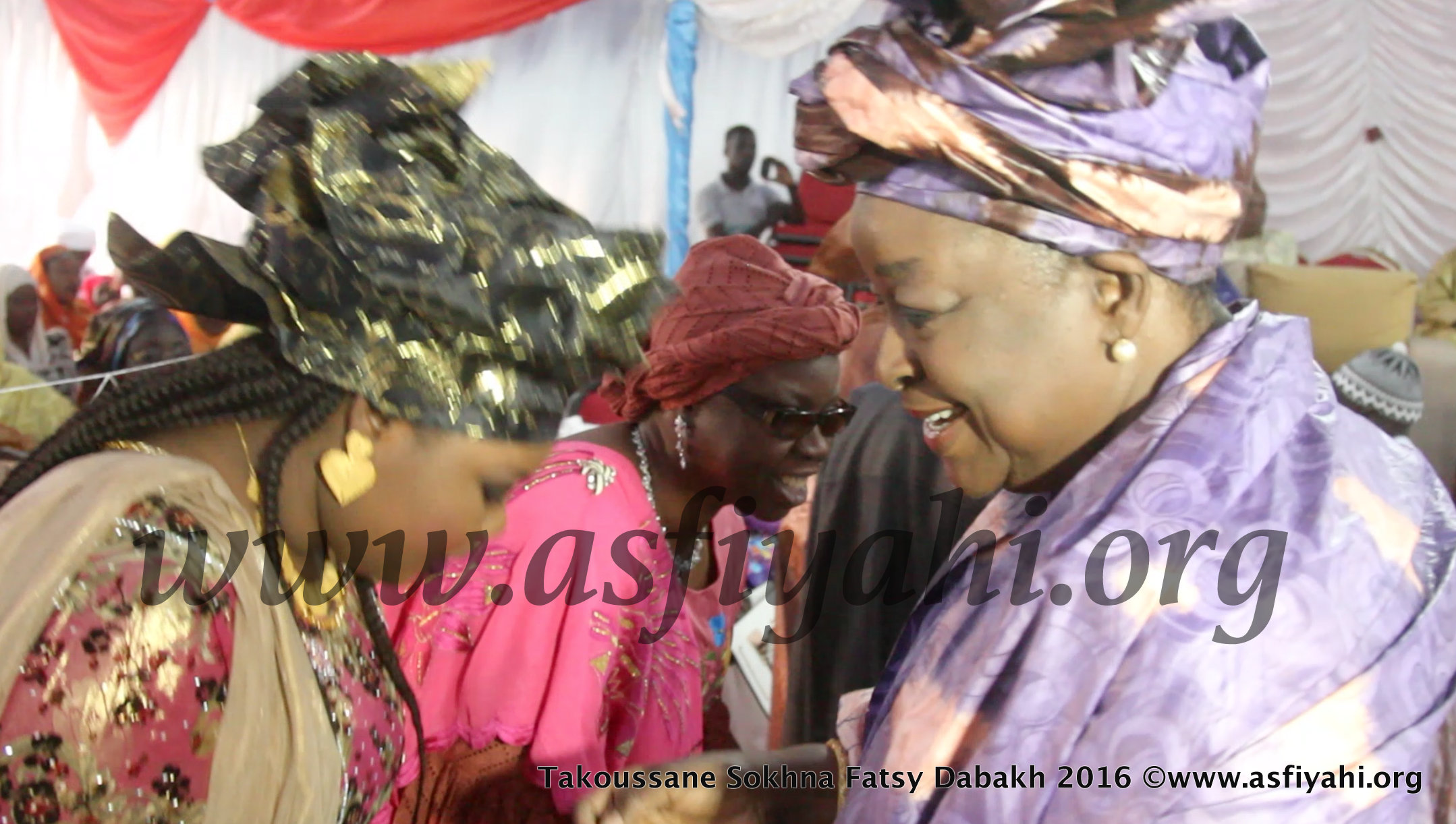PHOTOS - 27 MARS 2016 À DAKAR - Les Images du Takoussane Serigne Babacar Sy, organisé par Sokhna Fatsy Dabakh à la Zone de captage