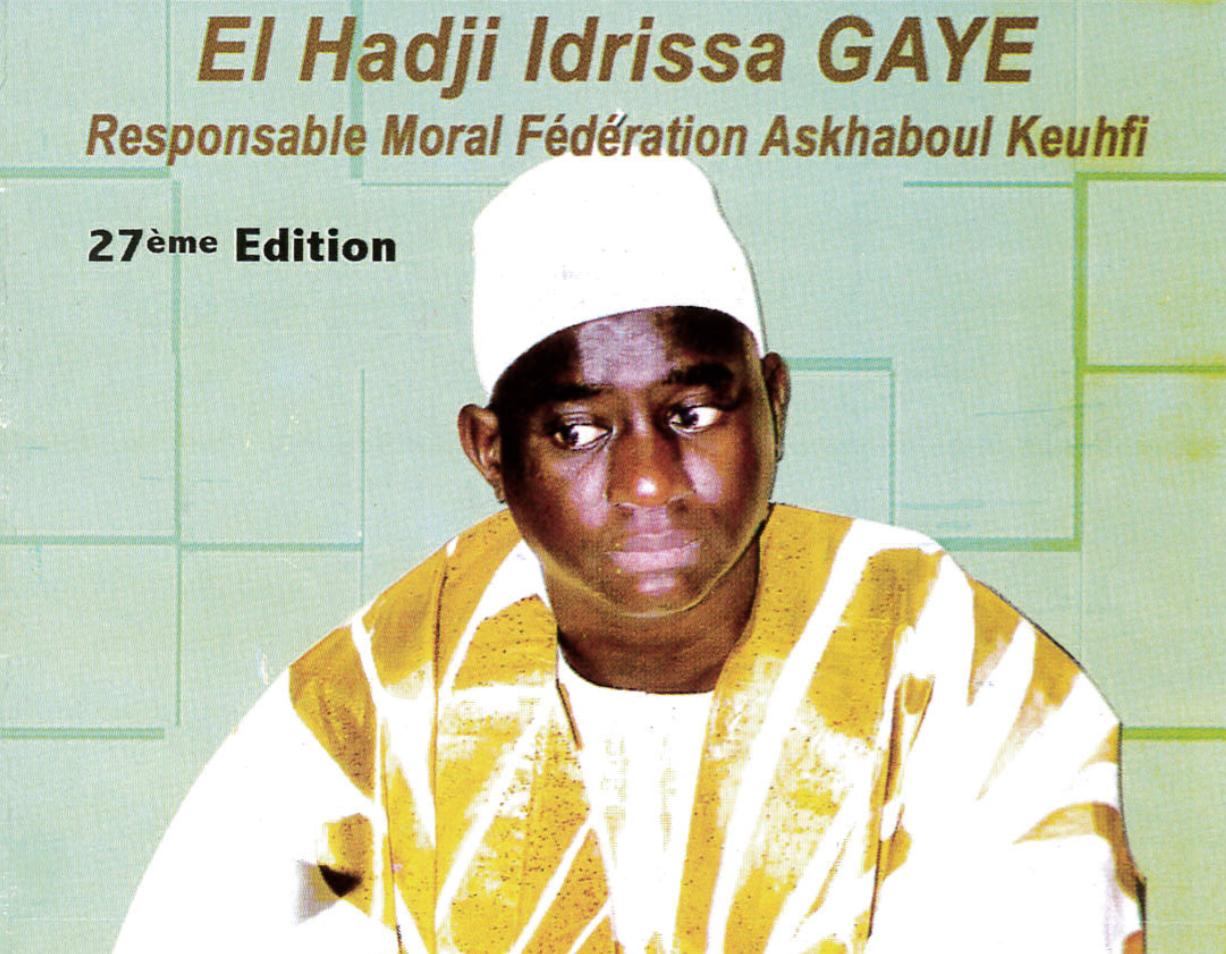 THIÉS - Gamou annuel El Hadj Idrissa Gaye, Ce Samedi 28 Mai 2016