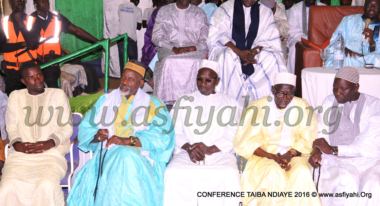 PHOTOS - TAÏBA NDIAYE - Les Images de la Conférence de Taïba Ndiaye 2016, sous la présidence de Serigne Sidy Ahmed Sy Abdou et du Maire Alé Lô
