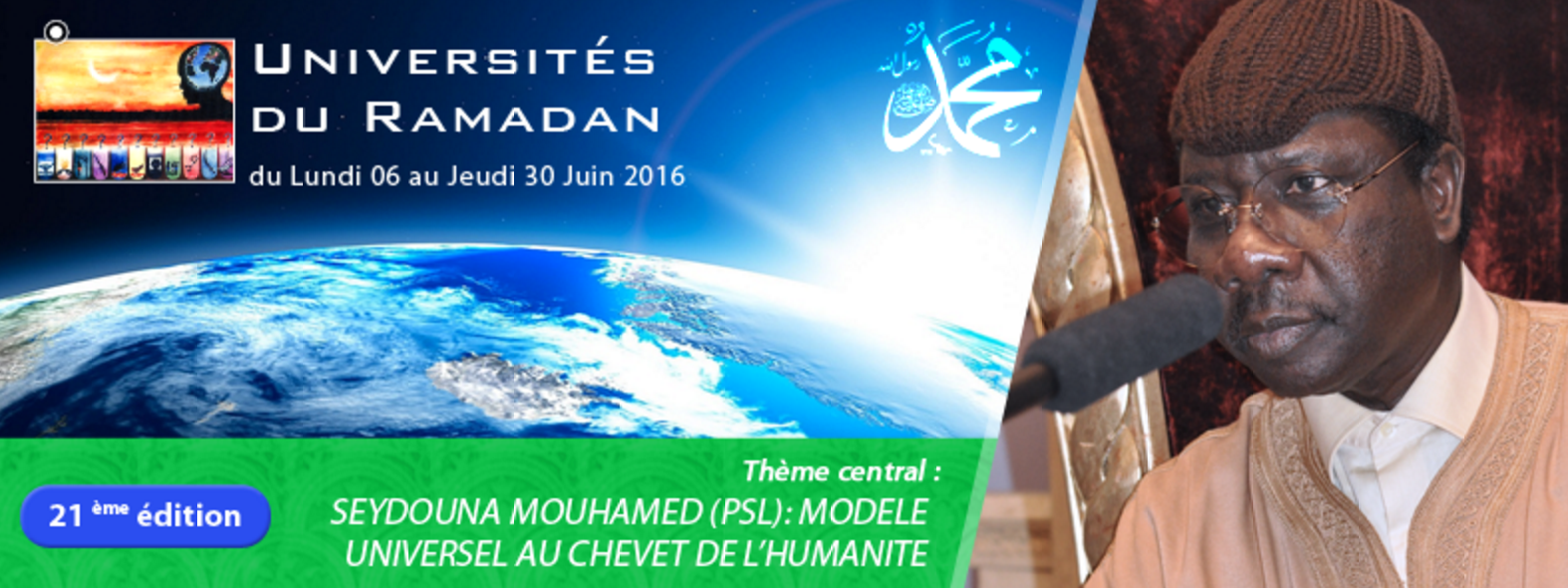 LIVE VIDEO - Suivez En Direct l'Université du Ramadan 2016