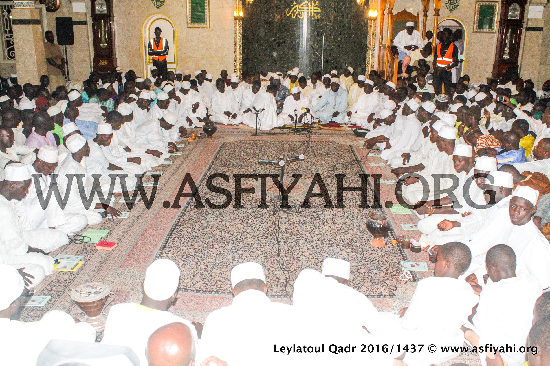 PHOTOS - 2 JUILLET 2016 À TIVAOUANE - Les Images de la Leylatoul Qadr à la Mosquée Serigne Babacar Sy (rta)