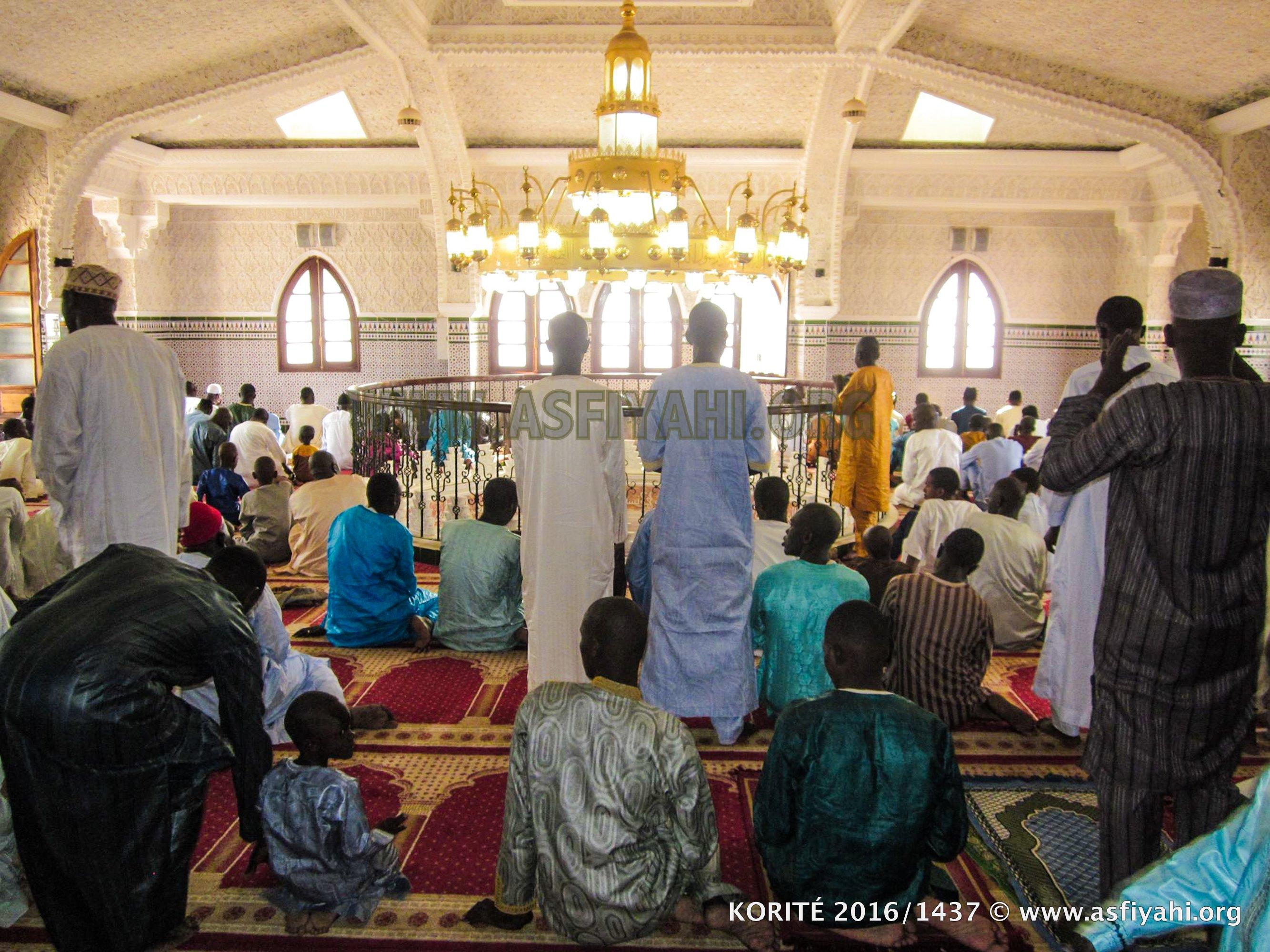 PHOTOS - KORITÉ 2016 À FASS - Les images de la Prière à la Mosquée Seydi Djamil