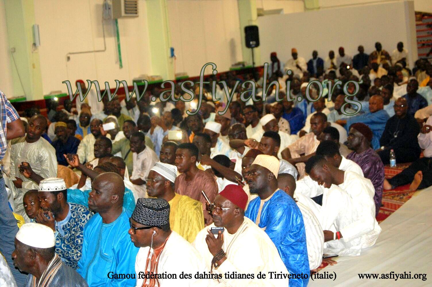 PHOTOS - ITALIE : Serigne Mbaye Sy Mansour a présidé le Gamou de la Fédération des Dahiras Tidianes de Triveneto