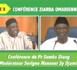Partie 3 - Conférence Ziarra Omarienne 2017 - Conférence du Pr Samba Dieng et Serigne Mansour Sy Djamil, sur le thème : « Thierno Mountaga TALL ou l'incarnation de l'héritage omarien, une contribution inestimable au rayonnement de l'Islam »