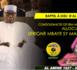 VIDEO - RAPPEL À DIEU D'AL AMINE - CONDOLEANCES DE SEM MACKY SALL : Allocution de Serigne Mbaye Sy Mansour