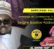 VIDEO - RAPPEL À DIEU D'AL AMINE - Le Message de Condoléances du Khalif General des Mourides délivré par Serigne Bass Abdou Khadr