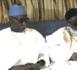 Louga: Le khalife général des Tidianes  à la Ziarra de Thierno Mountaga Daha Tall (rta)