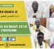 ANNONCE - Suivez l'avant-première de la Ziaara Daara Ji 2018 du Dahira Mountadibine de Serigne Mansour Sy ( rta ), dimanche 04 mars 2018 à  Tivaouane
