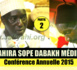VIDEO - 2ÉME PARTIE CONFÉRENCE SOPE DABAKH 2015 -  Suivez la Causerie de Serigne Habib SY Ibn Serigne Mbaye Sy Mansour