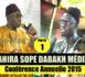 VIDEO - 1ÉRE PARTIE CONFÉRENCE SOPE DABAKH 2015 - Animations Wakeur Moussa Allé Mbaaye et Causerie de Serigne Souleymane Bâ
