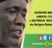 VIDEO - EXTRAIT GAMOU MOUTAMASSIKINA 2016 - Serigne Mbaye Sy Abdou tient en haleine les fidèles avec « QUTBOUL WUDJOUDI… » de Serigne Babacar SY (rta)