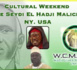 USA - Weekend Culturel El Hadj Malick Sy (rta),