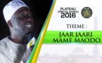 VIDEO - Plateau Special Gamou 2016 sur Asfiyahi Tv - invité Oustaz Diabel Koité dans Jaar Jaari Maodo
