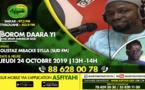 BOROM DARAA YI DU JEUDI 24 OCTOBRE 2019 PRESENTE PAR IMAME MANSOUR SECK INVITE OUSTAZ MBACKE SYLLA