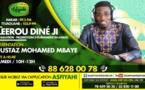 LEERU DIINE JI DU SAMEDI 18 JUILLET 2020 PAR OUSTAZ MOUHAMED MBAAYE DJAMIL