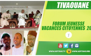 VIDEO - TIVAOUANE - Suivez le Forum Jeunesse / Vacances Citoyennes 2016