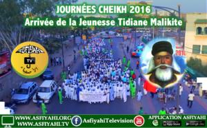VIDEO - JOURNÉE CHEIKH 2016 - Regardez l'arrivée de la Jeunesse Tidiane Malikite (Nahnu Awlâdu Tijâni)