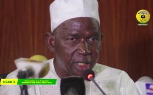 VIDEO - Suivez la Ceremonie de Presentation de la Traduction du Diiwaan d'El Hadj Abdoul Aziz Sy Dabakh (rta) par le Pr Rawane Mbaye