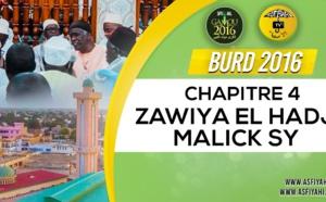 Bourde Gamou Tivaouane 2016 - Zawiya El Hadj Malick SY - Chapitre 4