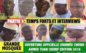 Partie 1 - Ouverture Journées Cheikh 2016 - Revivez les Temps forts et interviews