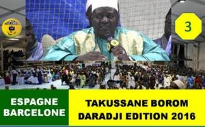 VIDEO - BARCELONE - Suivez le Takussane Borom Daradji présidé par Serigne Habib SY Mansour , Serigne Mame Doudou Sy Serigne Cheikh Sarr , animation Sam Mboup
